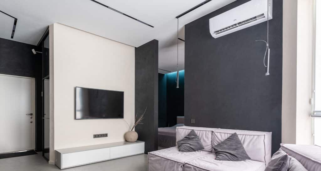 Air conditioning installed in bespoke Perth apartment